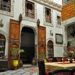 Beautiful courtyard. Detail was stunning!