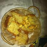 Homemade bread, pepper cookies etc..