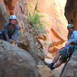 Diana and Scott - Zion Adventure Company guides