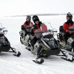 Ready to start your snowmobile safari?