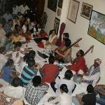 Everyone enjoying the performance