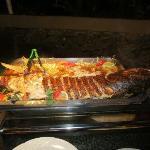 creole night with job fish on the menu mmmmmm