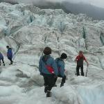 Trekking on Glaciers