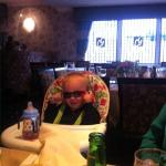 My Son Enjoying a meal at Lee Garden Lichfield