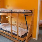 5-sengs familieværelse med eget bad og toilet