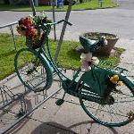 Cykelparkering under halvtag