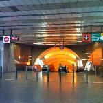 "Metro station ""Jinonice"""