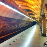 "Metro station ""Jinonice"" - platform"