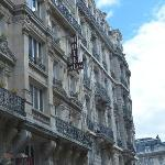 The beautiful Parisian architecture
