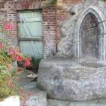 wishing well in garden