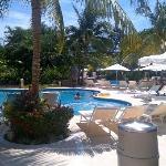 Pool area Grand Mayan