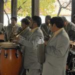 Marimba en el Centro Cultural del Carmen