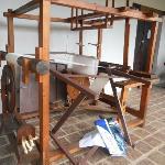 Telar para un taller de tejido