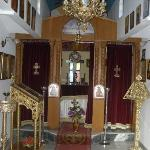 Inside of church in hotel grounds