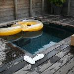 Pool at garden bungalow.