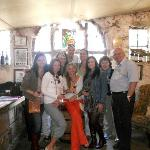 Our group and Selwyn at the Muratie Vineyards