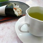 Sushi and Herbal Tea