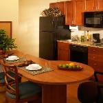 One Bedroom Suite (view of kitchen)