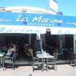 entree du restaurant LA MARINE