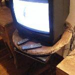 Old TV! upset!
