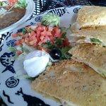 Parmisian Crusted Quesidilla
