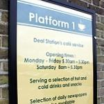 Platform 1 opens early