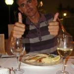 Cenando en el Restaurante