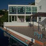 Casa Zuniga - one of bedrooms, overlooking the pool