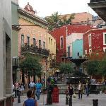 Guanajuato - one of the many squares in the historic centre