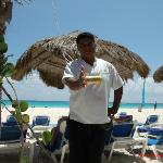 Sandos Staff at the beach