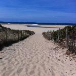 l'accès plage (nord)