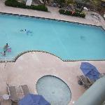 Pool From Corner Balcony