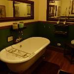 The victorian soak room