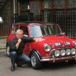 Bruce with the mini