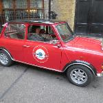 Driving the mini (at least pretending to)