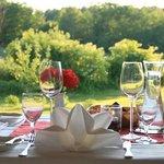 Essen mit direktem Blick auf den malerischen Pälitzsee