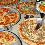 Some of Veneziano's great pizzas!