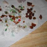 1 day of beach glass