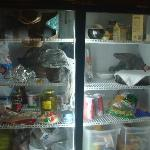Stuffed fridge