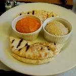 Embassy Suites LAX South Room Service Hummus