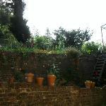 il giardino crcostante
