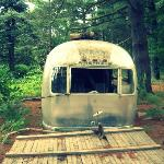 old unused airstream