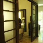 Sliding doors to the Master bedroom