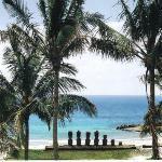 Playa Anakena.