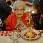 94 years young & celebrating her birthday in style!