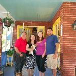 us with owners George and Alexandria