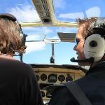 flying with Moritz