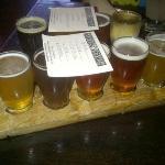 9 beer flight!