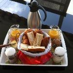 Le petit déjeuner (6€)