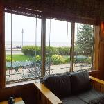 Sitting room with Lake Superior view